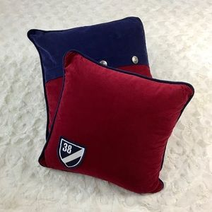 Cremieux Nautical Corduroy Throw Pillows